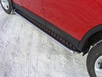 Пороги с площадкой 42,4 мм для Toyota RAV4 (2013 -) TOYRAV13-04