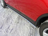 Пороги труба 60,3 мм для Toyota RAV4 (2013 -) TOYRAV13-08