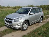 Защита передняя нижняя 60,3/42,4 мм для Toyota RAV4 Long (2010 -) TOYRAVLONG10-01