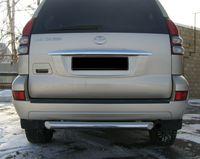 Защита заднего бампера d76 для Toyota LC Prado 120 (2003 -) TPZ-000155