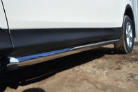 Пороги труба d63 (вариант 1) для  Toyota RAV4 Long (2009 -) TRLT-000145/1