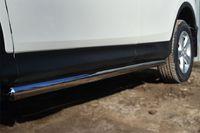 Пороги труба d63 (вариант 3) для  Toyota RAV4 Long (2009 -) TRLT-000145/3