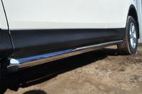 Пороги труба d76 (вариант 1) для  Toyota RAV4 Long (2009 -) TRLT-000150/1