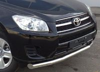 Защита переднего бампера d76 (секции) для  Toyota RAV4 Long (2009 -) TRLZ-000147