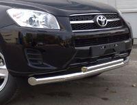 Защита переднего бампера d70/42 (секции) для  Toyota RAV4 Long (2009 -) TRLZ-000149