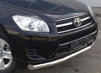 Защита переднего бампера d76 (секции) для  Toyota RAV4 (2009 -) TRZ-000147