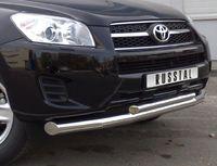 Защита переднего бампера d76/42 (секции) для  Toyota RAV4 (2009 -) TRZ-000149