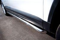 Пороги труба d63 (вариант 1) для Volkswagen Tiguan (Track&Field, Track&Style) (2011 -) VGT-0004931