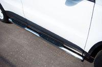Пороги труба d76 с накладками (вариант 2) для Volkswagen Tiguan (Track&Field, Track&Style) (2011 -) VGT-0004942