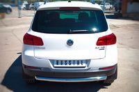 Защита заднего бампера d63 (дуга) для Volkswagen Tiguan (Sport&Style, Trend&Fun) (2011 -) VGZ-000985