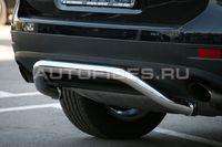Защита заднего бампера d60 для Volkswagen Touareg (2010 -) VWTG.75.1193
