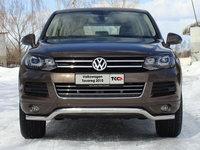 Защита передняя нижняя 60,3 мм для Volkswagen Touareg (2010 -) VWTOUAR10-08