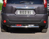 Защита заднего бампера d76 (дуга) для Nissan X-Trail (2011 -) XNZ-000965